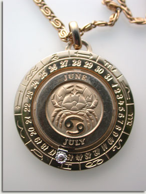 Soul heirs cancer zodiac pendant by pierre cardin prensented is a cancer zodiac pendant with chain designed by pierre cardin this pendant is from the 60s70s eras when zodiac jewelry was the rage aloadofball Choice Image